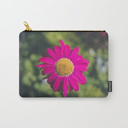 isolated fuchsia gerbera Carry-All Pouch