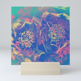 Petal Smoke Mini Art Print