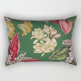 Sitting in the Garden Rectangular Pillow