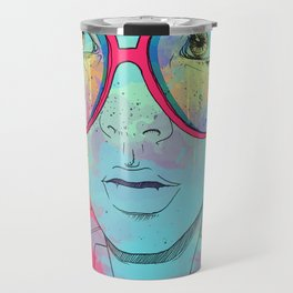 Kaleidoscope Vision Travel Mug