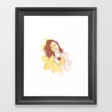 My Passion Framed Art Print