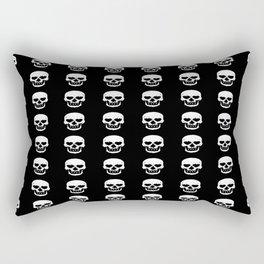Heart Skulls Rectangular Pillow