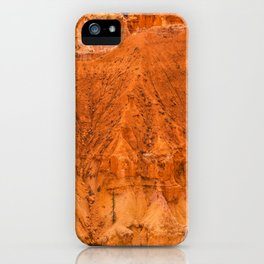 Landscape of Agua Canyon at Bryce Canyon National Park iPhone Case