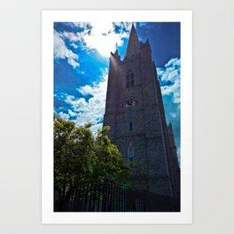 st patrick's church  Art Print