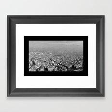Le Skyline - Paris Framed Art Print