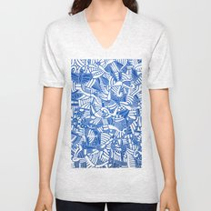 - the captain who fell with the blue angels - Unisex V-Neck