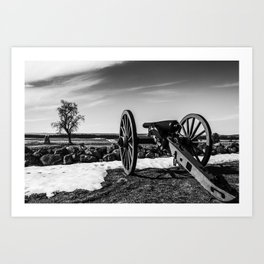 Gettysburg PA Art Print