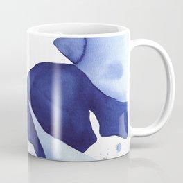 Royal Blue Palms no.1 Coffee Mug