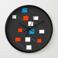 building Wall Clocks featuring building by Matt Edward