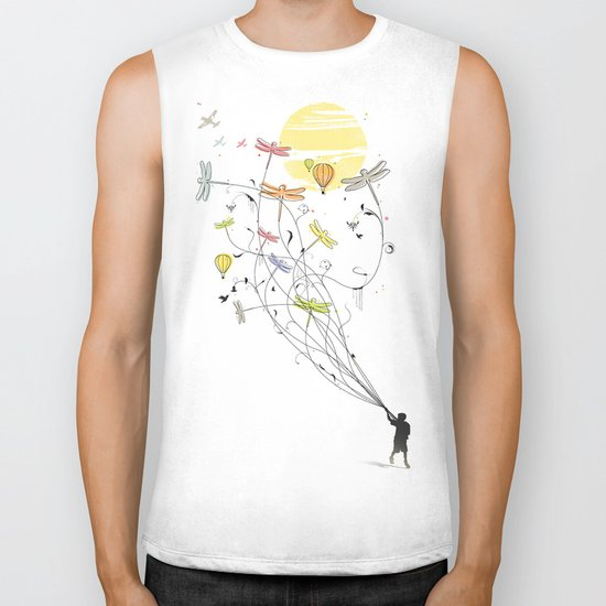 Kite Dream Biker Tank