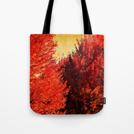 FALL IS HERE Tote Bag