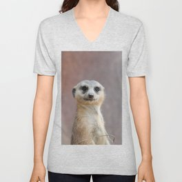 I Call Him Uncle Bob And He Was Ready For His Closeup Unisex V-Neck