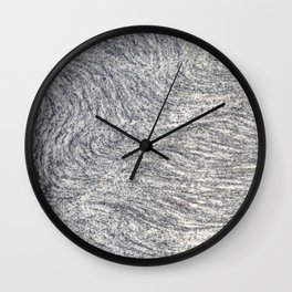 Real Marble Swirl Natural Wall Clock