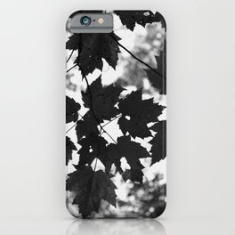 Leaves grow old gracefully iPhone Case