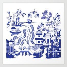 Goo Willow Art Print