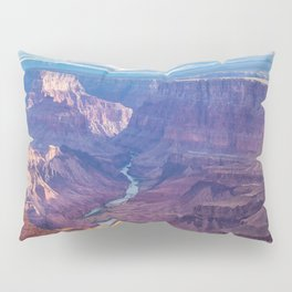 Grand Canyon and the Colorado River Pillow Sham