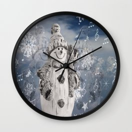 illustrations note cool Wall Clock