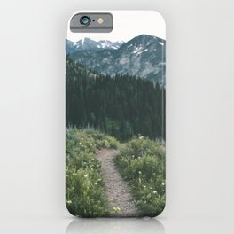 Happy Trails III iPhone Case