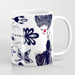 Diamonds and Flowers_01 Coffee Mug