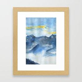 Brume Framed Art Print