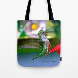 Electric Emerald Tote Bag