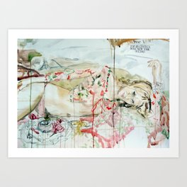 Anne V Art Print