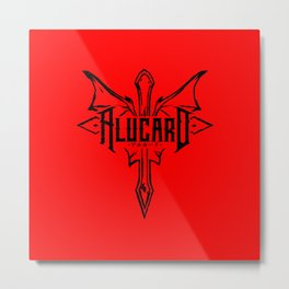 Alucard Metal Print