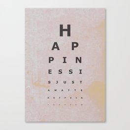 Happiness (4) Canvas Print