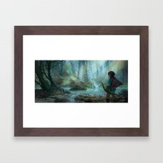 Zelda 2015  Framed Art Print