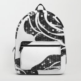 roses are black Backpack