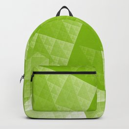 Greenery abstract pattern Backpack