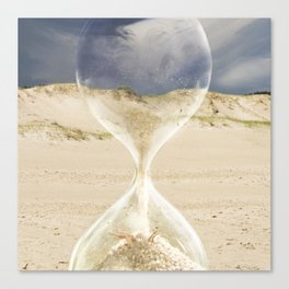 To the desert - time Canvas Print
