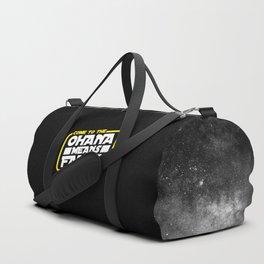 Luke, we are ohana Duffle Bag