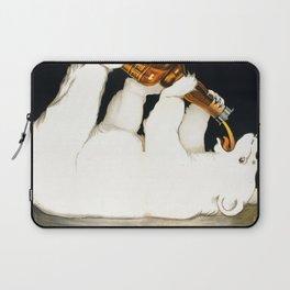 Vintage 1928 Campari Polar Bear Alcoholic Bitters Advertisement by Franz Laskoff Laptop Sleeve