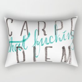 Carpe Diem Rectangular Pillow