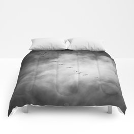 SEARCHING FOR BLUE SKY Comforters