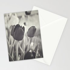When Spring Was Here B/W Stationery Cards