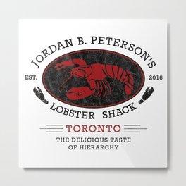 Jordan Peterson - Lobster Shack 2 Metal Print