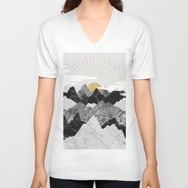 Sun rise Unisex V-Ausschnitt