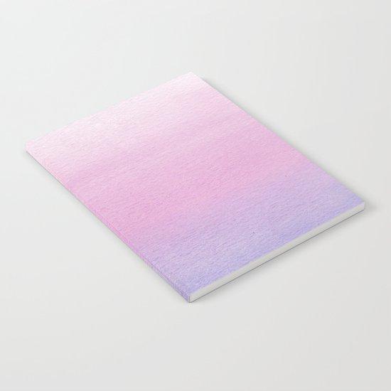 Watercolor Gradient Notebook