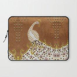 Peacock in Bronze Laptop Sleeve