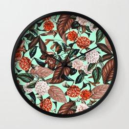 Summer Botanical Garden VII Wall Clock