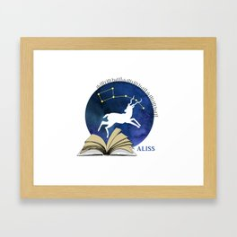 2016 ALISS (Dark) Framed Art Print