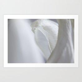 white dream 0.3 Art Print