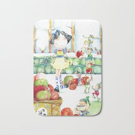 Snow White and the cooperative. Bath Mat