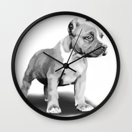 puppers Wall Clock