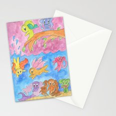 Ocean Party Stationery Cards
