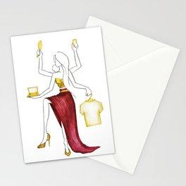 Mother Goddess Stationery Cards