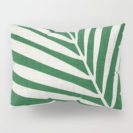 Minimalist Palm Leaf Pillow Sham