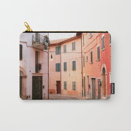 Colorful streets of Italy | Fine art travel photography print Europe Carry-All Pouch